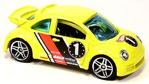 Hot Wheels Cars Die-Cast: Volkswagen New Beetle Cup