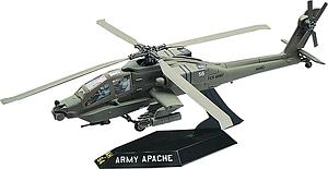 Revell USA 1:72 Scale Model Kit SnapTite AH-64 Apache Helicopter (85-1183)