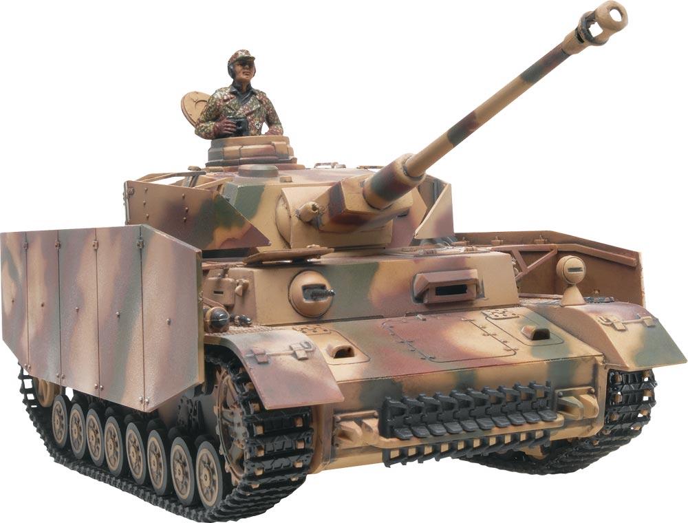 Monogram 1:32 Scale Tank Plastic Model Kit Panzer IV (RMX7861)