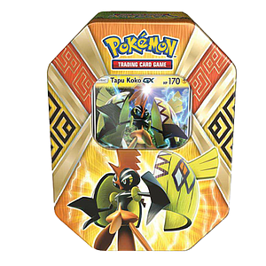 Pokemon Trading Card Game Sun & Moon Summer Tins 2017: Tapu Koko-GX