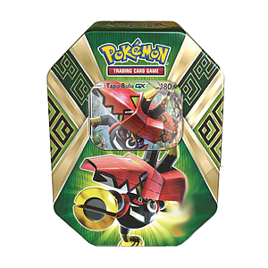 Pokemon Trading Card Game Sun & Moon Summer Tins 2017: Tapu Bulu-GX