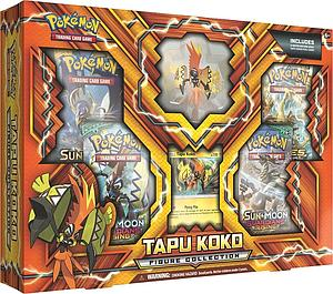 Pokemon Trading Card Game: Tapu Koko Figure Collection