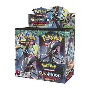 Pokemon Trading Card Game: Sun & Moon Guardians Rising Booster Box