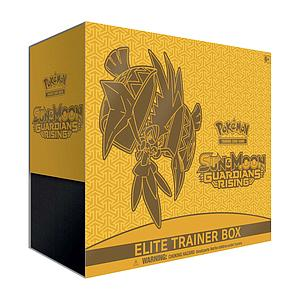 Pokemon Trading Card Game: Sun & Moon Guardians Rising Elite Trainer Box
