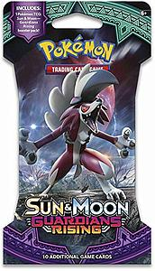 Pokemon Trading Card Game: Sun & Moon Guardians Rising Sleeve Booster Pack