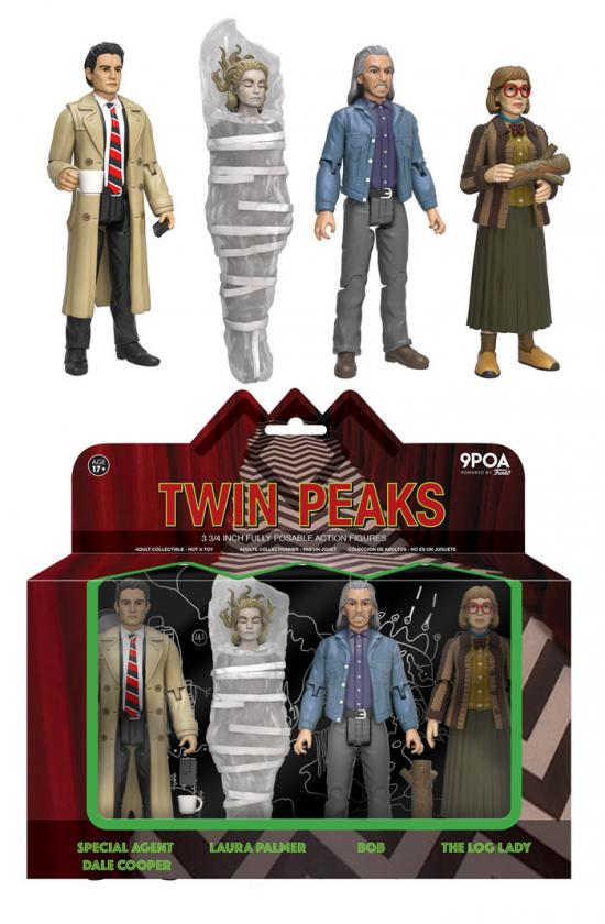 9POA Twin Peaks Action Figure: 4-Pack (Vaulted)