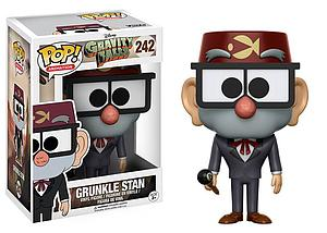 Pop! Animation Gravity Falls Vinyl Figure Grunkle Stan #242