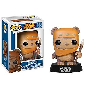 Pop! Star Wars Vinyl Bobble-Head Wicket #26