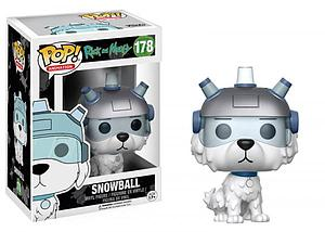 Pop! Animation Rick and Morty Vinyl Figure Snowball #178