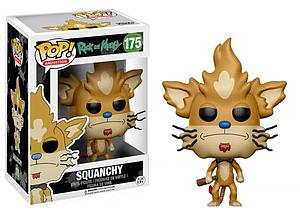 Pop! Animation Rick and Morty Vinyl Figure Squanchy #175