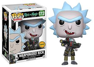 Pop! Animation Rick and Morty Vinyl Figure Weaponized Rick #172 (Chase)