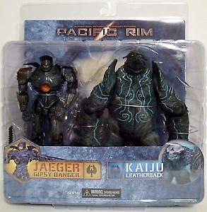 "Pacific Rim 7"" Series 2: Battle Damaged Gipsy Danger & Leatherback Kaiju Box Set"