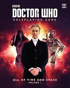 Doctor Who Roleplaying Game: All of Time and Space