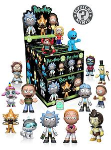 Mystery Minis Blind Box: Rick & Morty (1 Pack)
