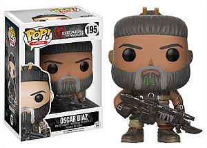 Pop! Games Gears of War Vinyl Figure Oscar Diaz #195 (Vaulted)
