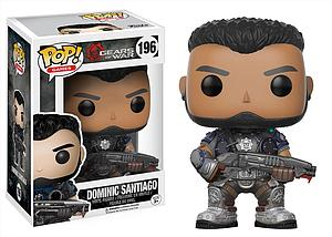 Pop! Games Gears of War Vinyl Figure Dominic Santiago #196 (Vaulted)