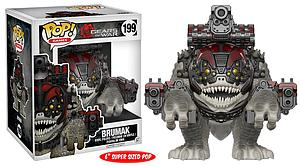 "Pop! Games Gears of War Vinyl Figure 6"" Brumak #199 (Vaulted)"