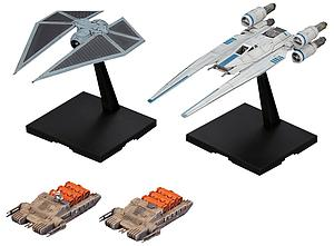 Star Wars 1/144 Scale Model Kit: U-Wing Fighter & Tie Striker