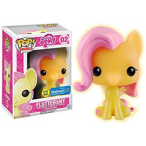 Pop! My Little Pony Vinyl Figure Fluttershy (Glows in the Dark) #02 Walmart Exclusive