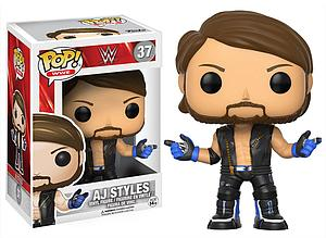 Pop! WWE Vinyl Figure A.J. Styles #37