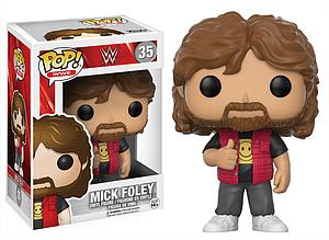 Pop! WWE Vinyl Figure Mick Foley (Old School) #35