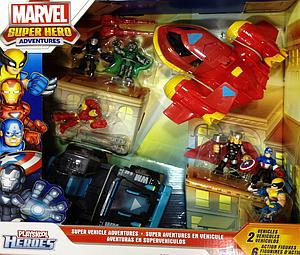 "Marvel Super Hero Adventures 2"" 8-Pack: Super Vehicle Adventures Set"
