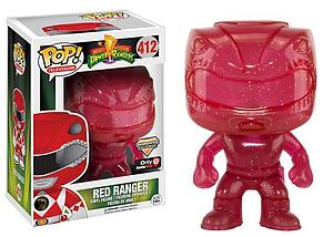 Pop! Television Mighty Morphin Power Rangers Vinyl Figure Red Ranger (Morphing) #412 GameStop Exclusive
