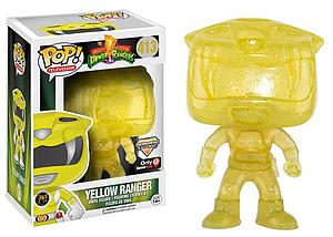 Pop! Television Mighty Morphin Power Rangers Vinyl Figure Yellow Ranger (Morphing) #413 GameStop Exclusive