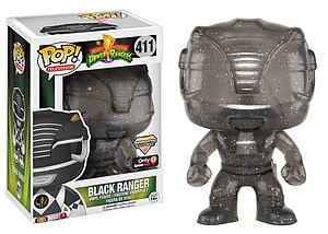Pop! Television Mighty Morphin Power Rangers Vinyl Figure Black Ranger (Morphing) #411 GameStop Exclusive