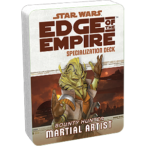 Star Wars: Edge of The Empire Specialization Deck - Martial Artist