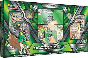 Pokemon Trading Card Game: Alolan Premium Collection Decidueye-GX