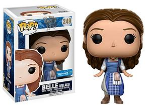 Pop! Disney Beauty & the Beast (2017) Vinyl Figure Belle (Village) #249 Walmart Exclusive
