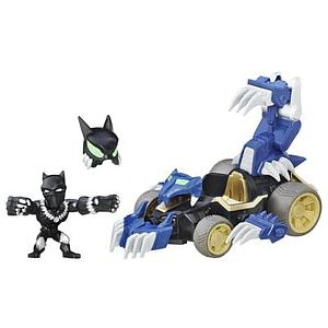 Marvel Super Hero Mashers Micro Shadow Claw Vehicle and Black Panther Figure