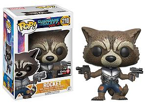 Pop! Marvel Guardians of the Galaxy Vol. 2 Vinyl Bobble-Head Rocket #210 GameStop Exclusive