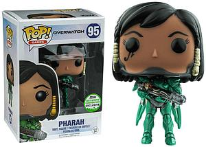 Pop! Games Overwatch Vinyl Figure Pharah (Emerald) #95 2017 Spring Convention Exclusive