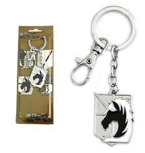 Attack on Titan Keychain Military Police Crest