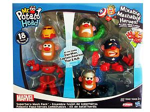 Mr. Potato Head Mixable Mashable Heroes 18 Pieces Marvel Superhero Mash Pack
