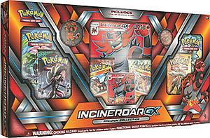 Pokemon Trading Card Game: Alolan Premium Collection Incineroar-GX