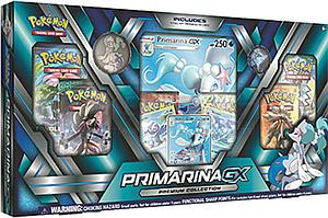 Pokemon Trading Card Game: Alolan Premium Collection Primarina-GX
