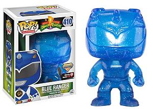 Pop! Television Power Rangers Vinyl Figure Blue Ranger (Morphing) #410 GameStop Exclusive