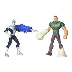 Ultimate Spider-man Sinister 6: 2-Pack (Stealth Armor) Spiderman vs Marvel's Sandman