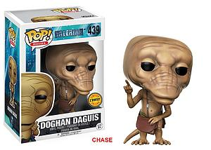 Pop! Movies Valerian and the City of a Thousand Planets Vinyl Figure Doghan Daguis (Brown Pouch) #439 (Chase)