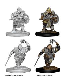 Dungeons & Dragons Nolzur's Marvelous Miniatures: Dwarf Fighter