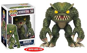 "Pop! Games Resident Evil Vinyl Figure 6"" Hunter #160 GameStop Exclusive"