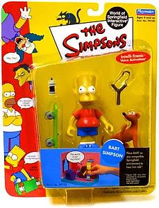 The Simpsons World of Springfield Interactive Figure Bart Simpson
