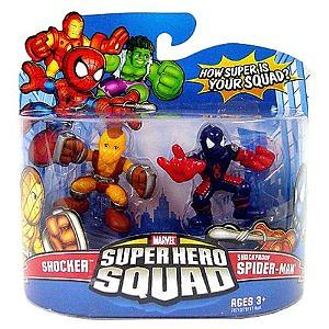 "Marvel Super Hero Squad 2"" 2-Pack: Shocker & Shockproof Spider-Man"