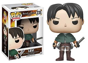 Pop! Animation Attack on Titan Vinyl Figure Levi Ackerman #235