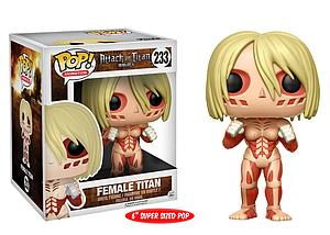"Pop! Animation Attack on Titan 6"" Vinyl Figure Female Titan #233"