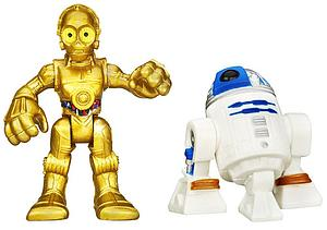 Star Wars Galactic Heroes 2-Pack R2-D2 & C-3PO Mini Figure