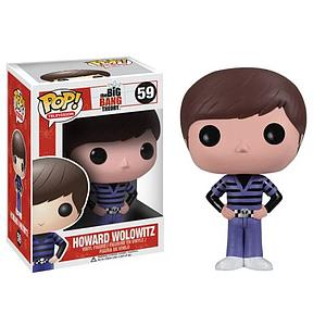 Pop! Television The Big Bang Theory Vinyl Figure Howard Wolowitz #59 (Vaulted)